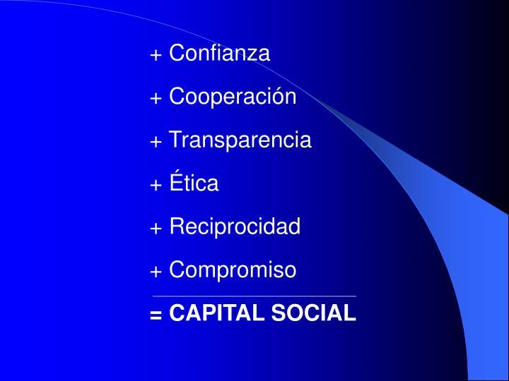 + Confianza