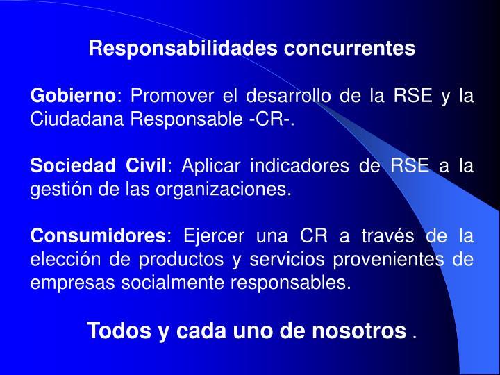 Responsabilidades concurrentes