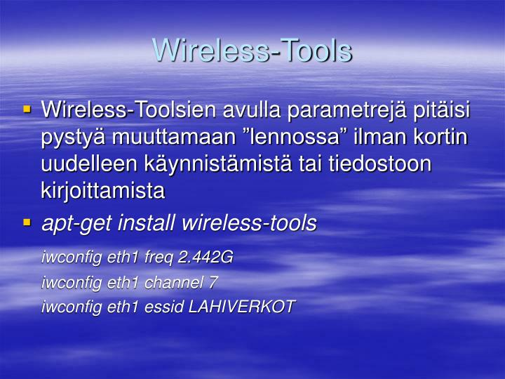 Wireless-Tools