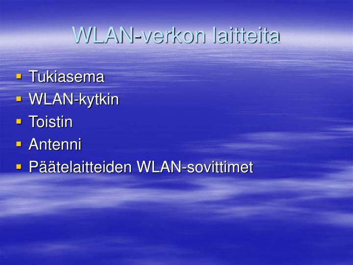 WLAN-verkon laitteita