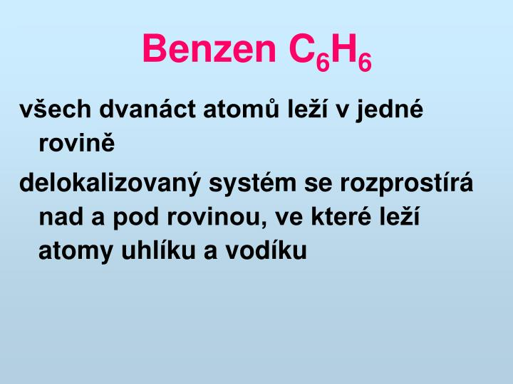 Benzen C