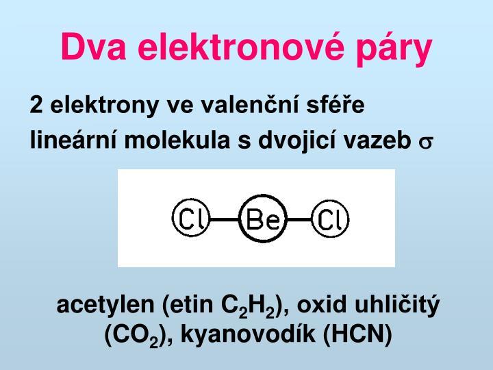 Dva elektronové páry