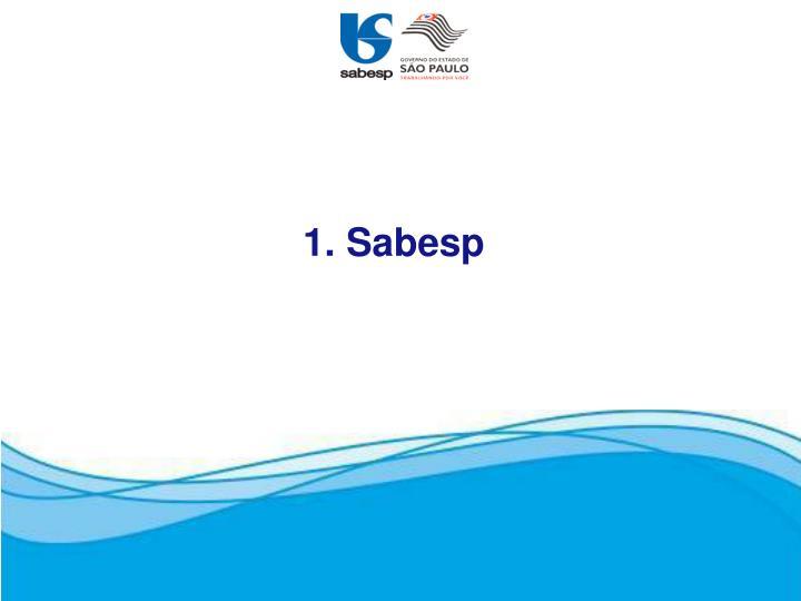 1. Sabesp