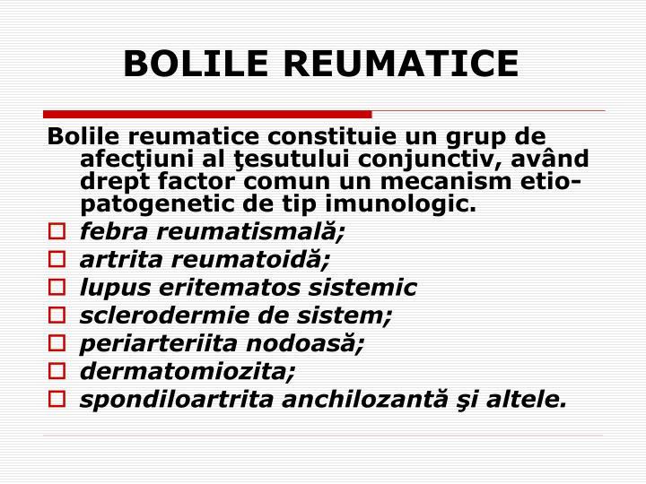 BOLILE REUMATICE