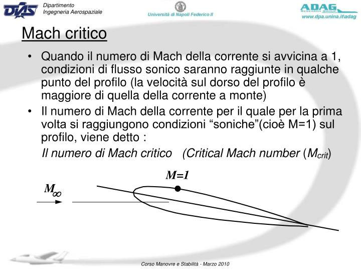 Mach critico