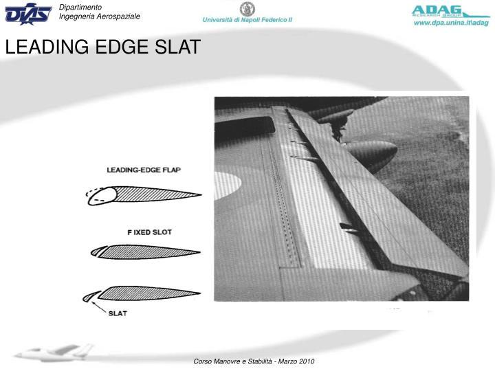 LEADING EDGE SLAT