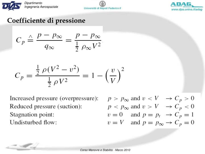Coefficiente di pressione