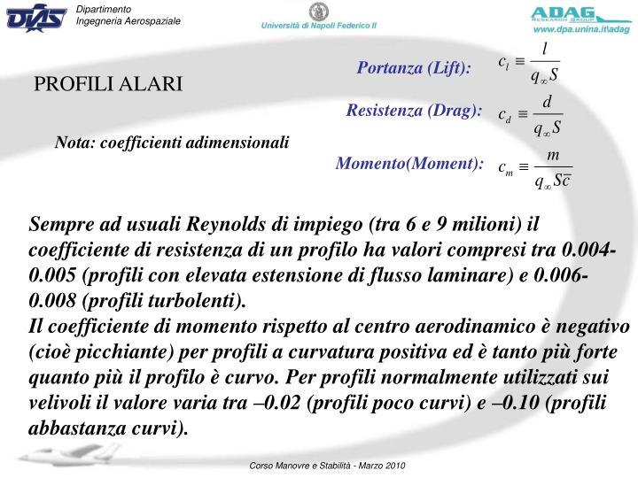 Portanza (Lift):