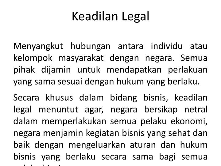 Keadilan Legal