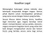 keadilan legal