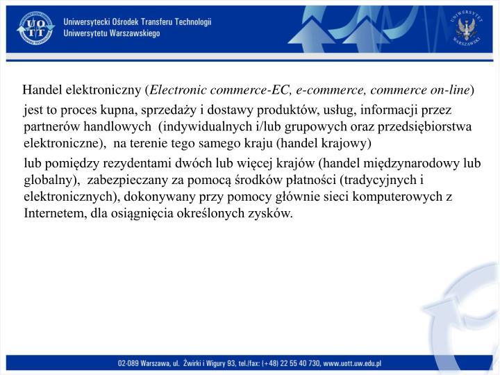 Handel elektroniczny (