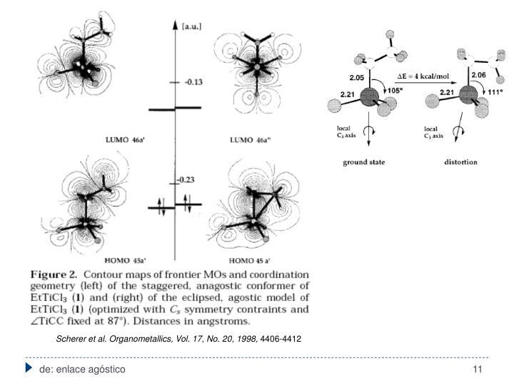 Scherer et al. Organometallics, Vol. 17, No. 20, 1998,