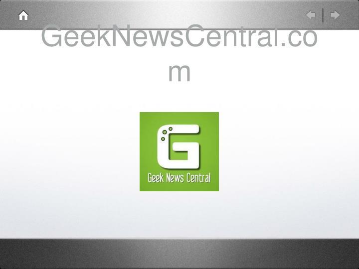 GeekNewsCentral.com