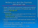 mcgorry et al arch gen psychiatry 2002 59 921 928