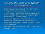 mcgorry et al arch gen psychiatry 2002 59 921 9281
