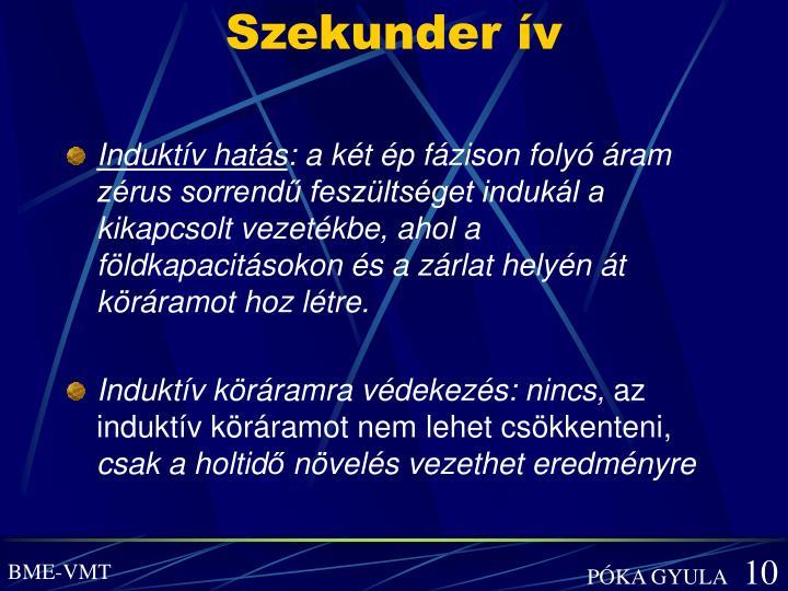 Szekunder ív