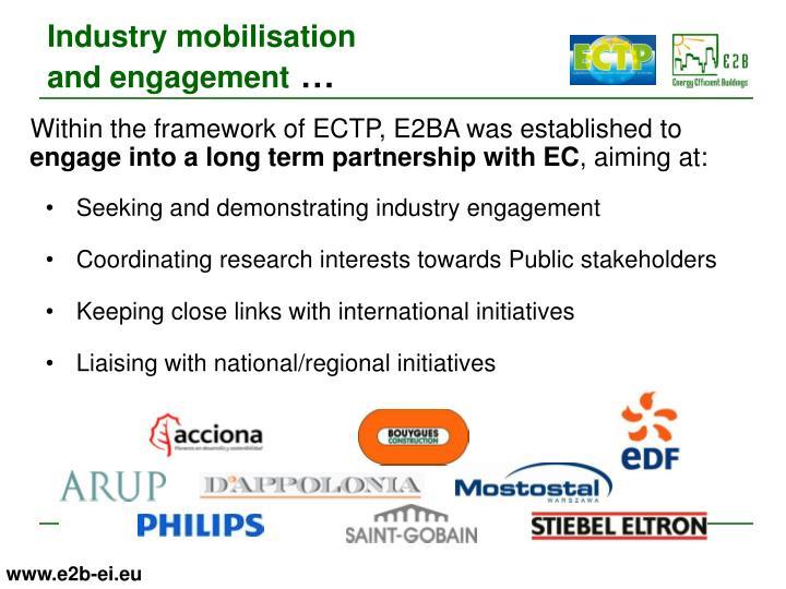 Industry mobilisation