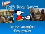 fluffy book report