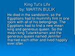 king tut s life by martin bulik1