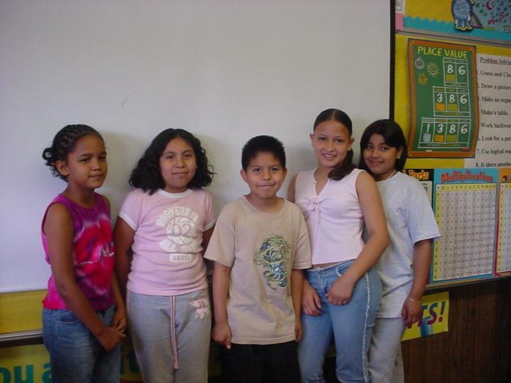 Ms. Rosa's Rising Stars Present
