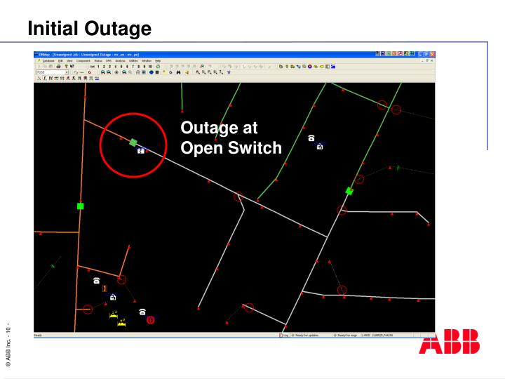 Initial Outage