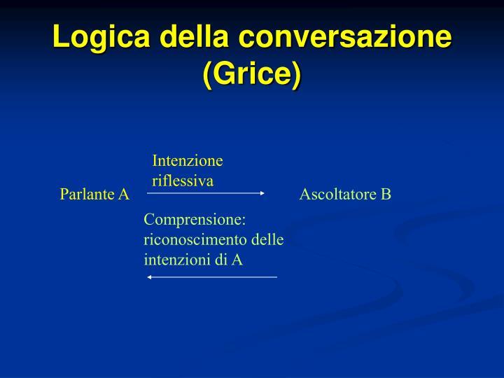 Logica della conversazione