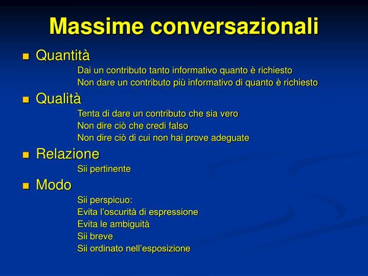 Massime conversazionali