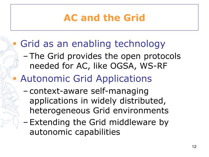 AC and the Grid
