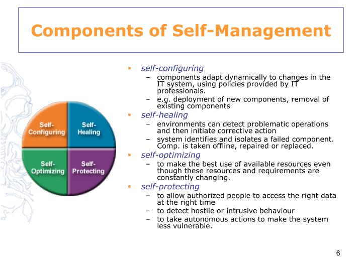 Components of Self-Management