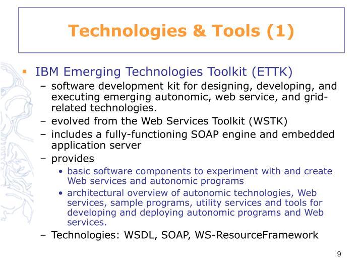 Technologies & Tools (1)