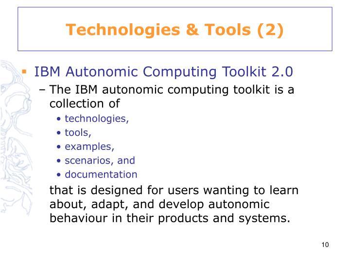 Technologies & Tools (2)