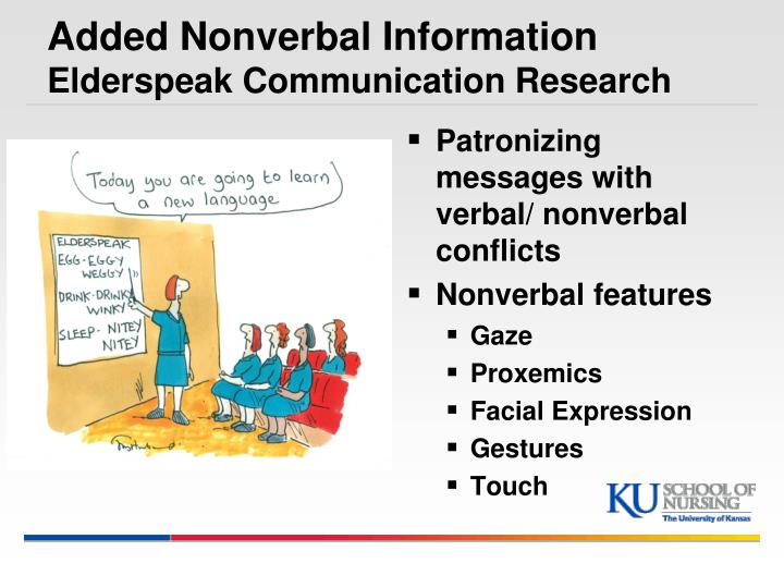Research on nonverbal communication