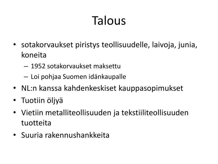 Talous