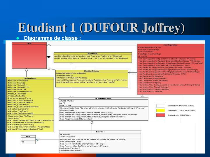 Etudiant 1 (DUFOUR Joffrey)