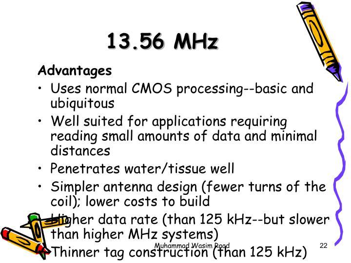 13.56 MHz