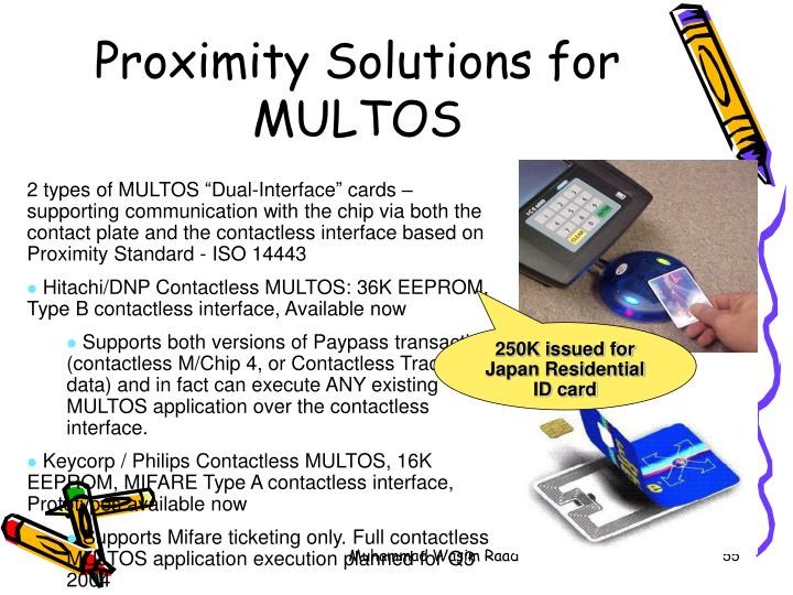 Proximity Solutions for MULTOS