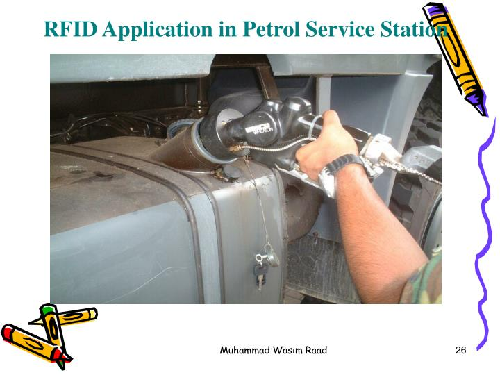 RFID Application in Petrol Service Station