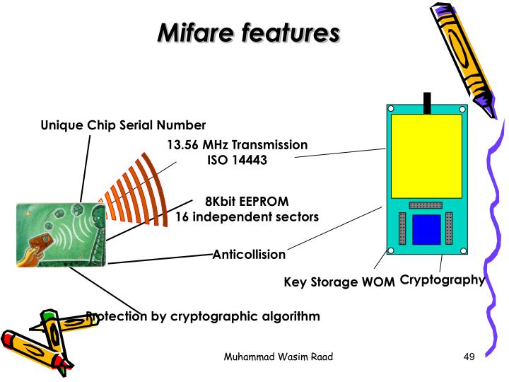 Mifare features