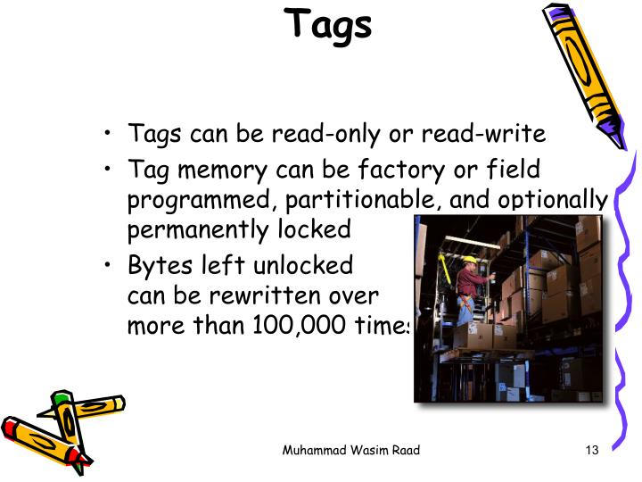 What is RFID? -- The Tags