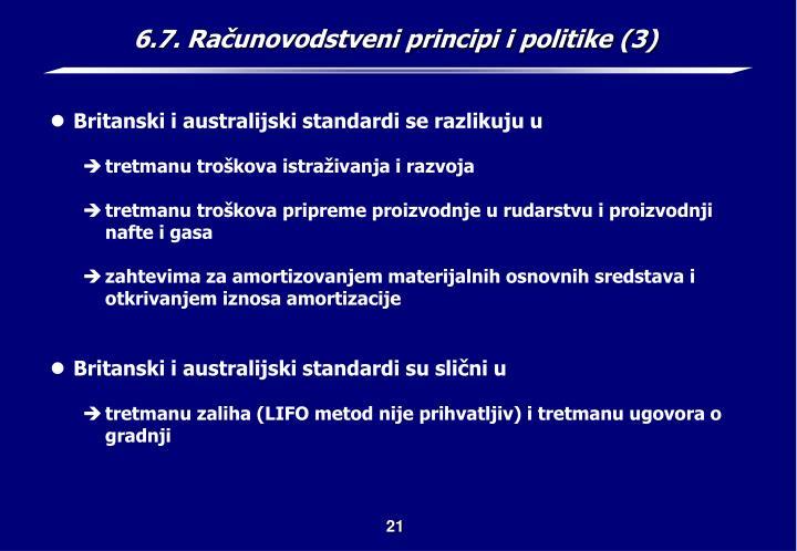 6.7. Računovodstveni principi i politike (3)