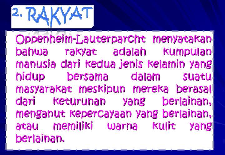 2. RAKYAT