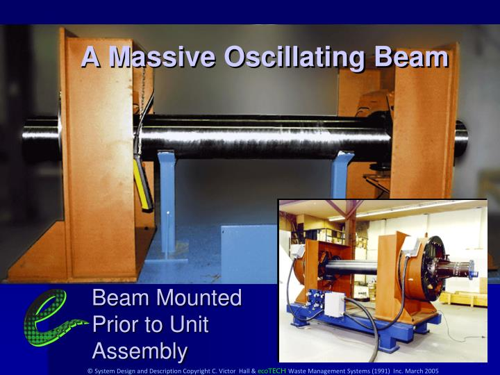 A Massive Oscillating Beam