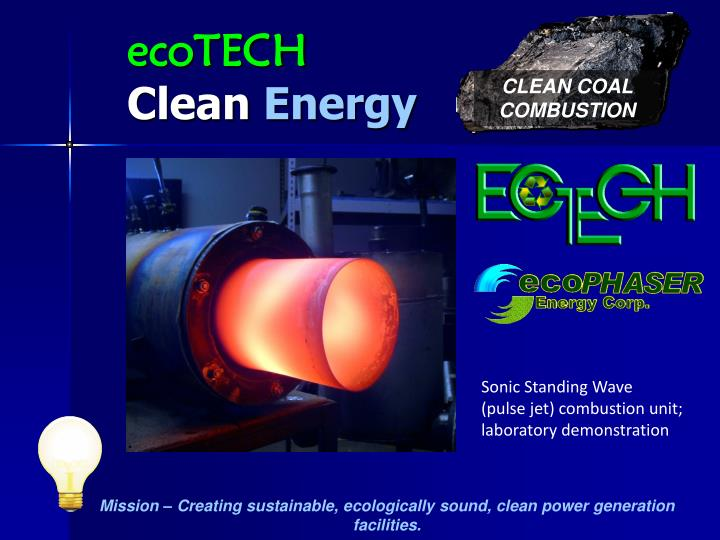 Ecotech clean energy