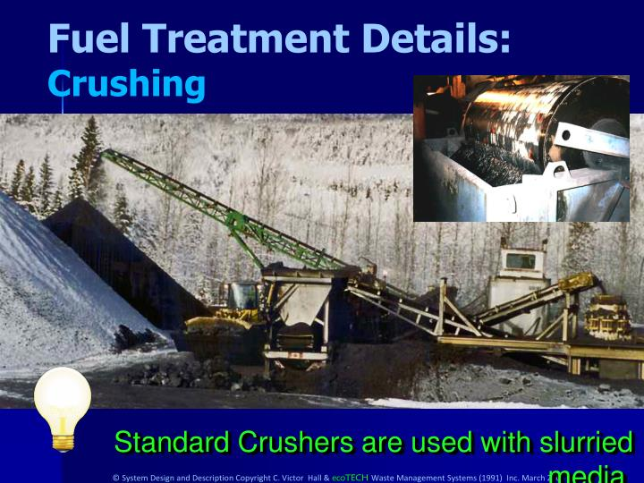 Fuel Treatment Details: