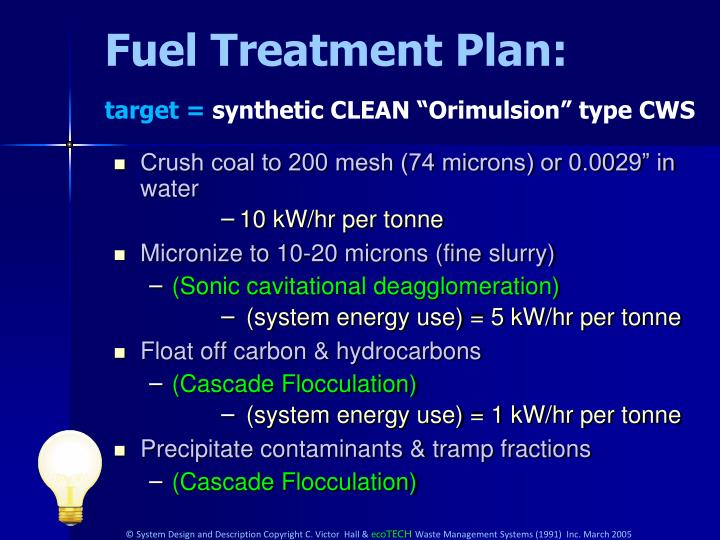 Fuel Treatment Plan: