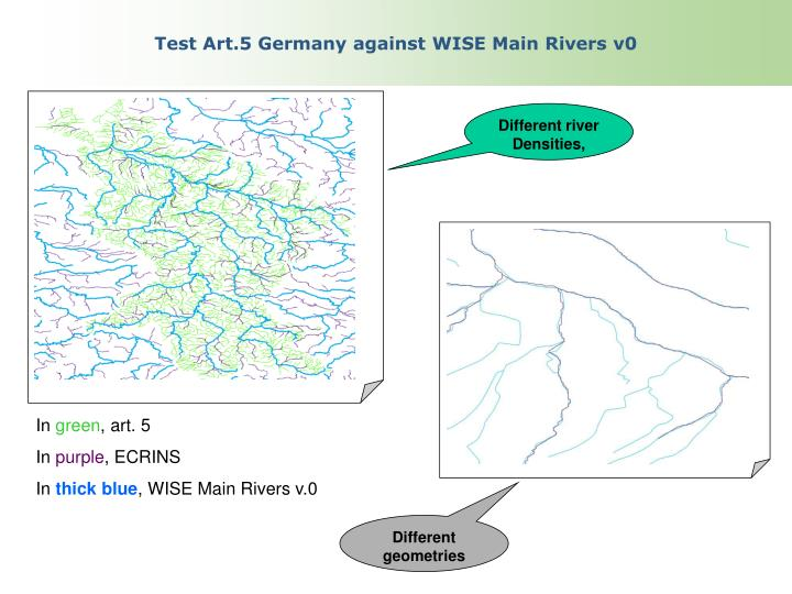 Test Art.5 Germany against WISE Main Rivers v0