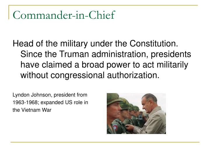 Commander-in-Chief