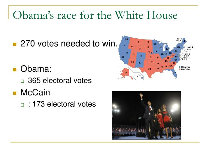 Obama's race for the White House