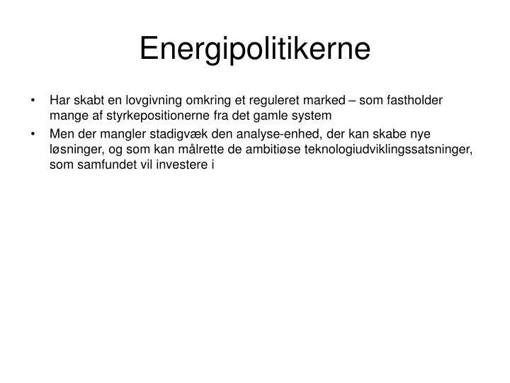 Energipolitikerne