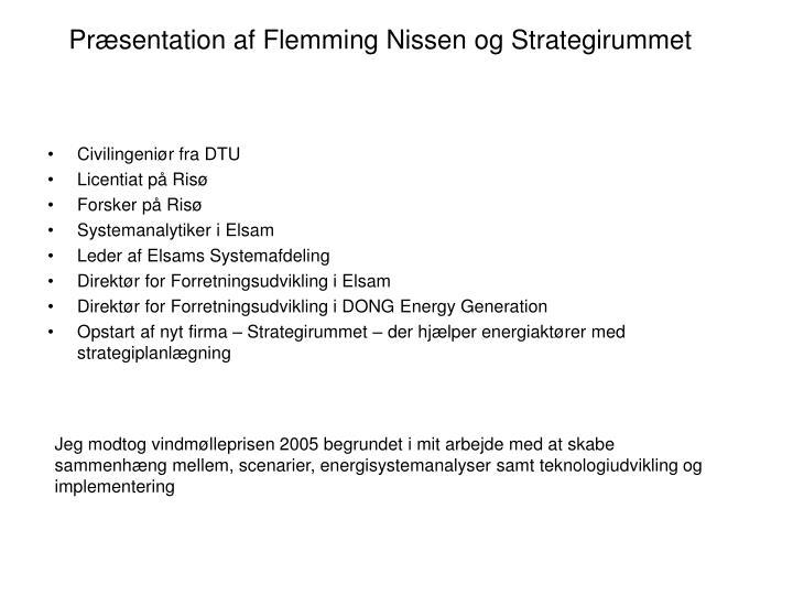 Præsentation af Flemming Nissen og Strategirummet